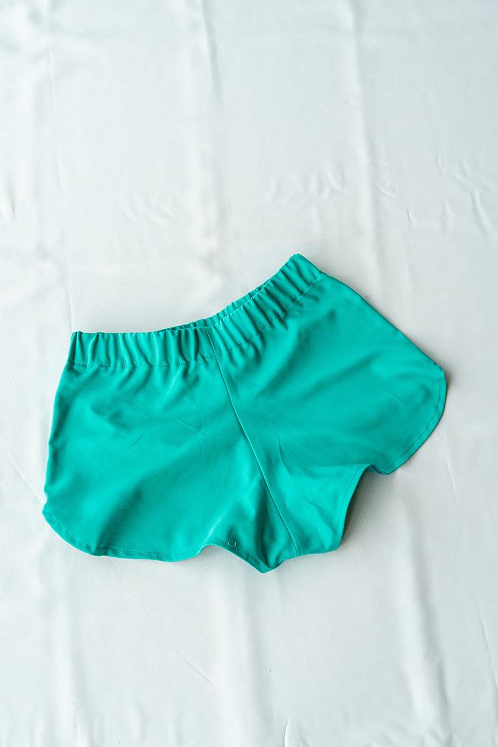 COLECCIÓN SOLSTICIO shorts verdes