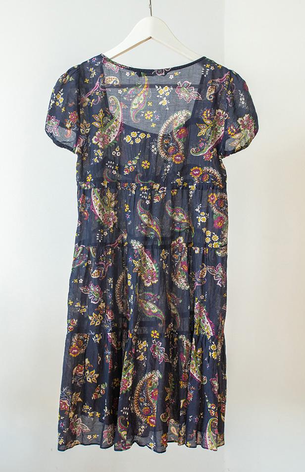 Vestido paisley Zara