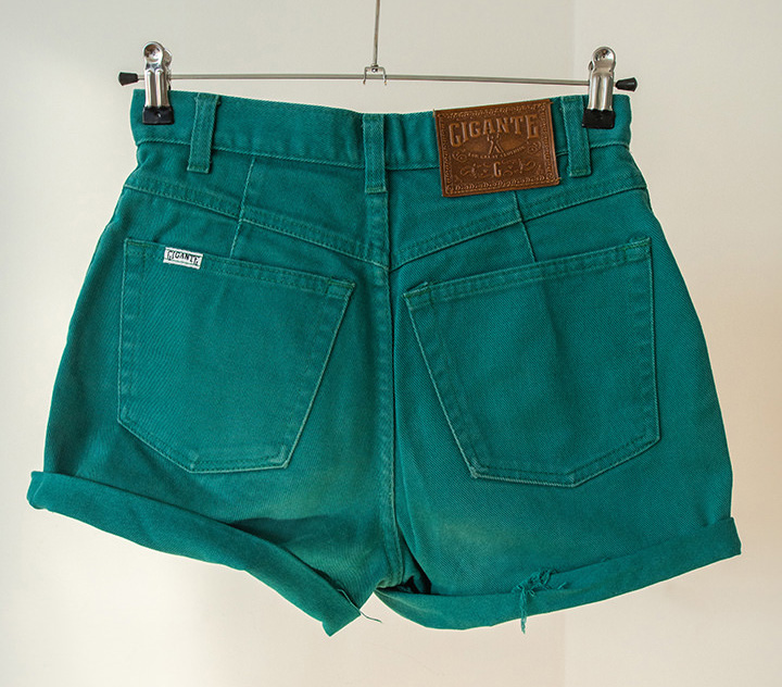 shorts denim verdes