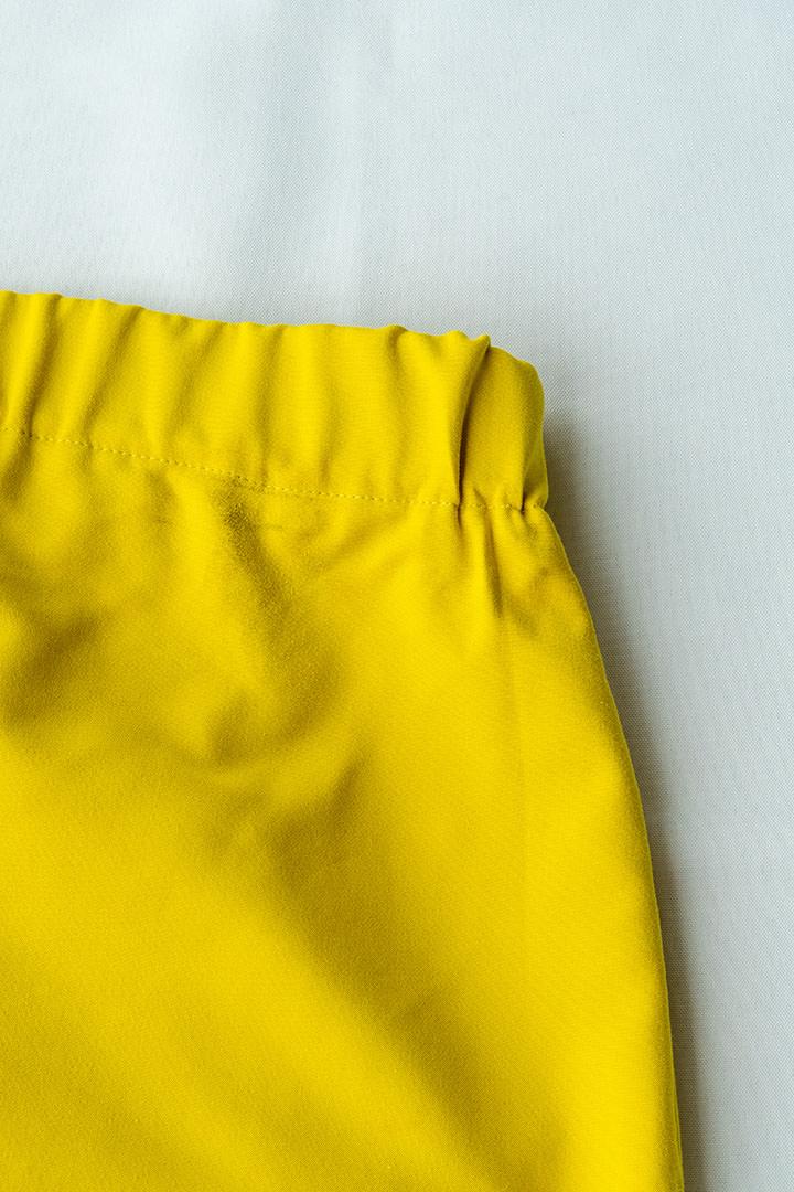 COLECCIÓN SOLSTICIO shorts amarillos