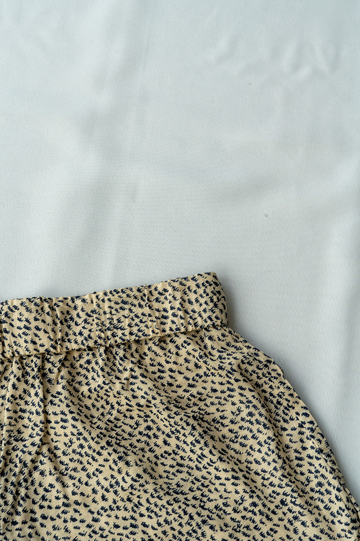 COLECCIÓN SOLSTICIO shorts manchitas