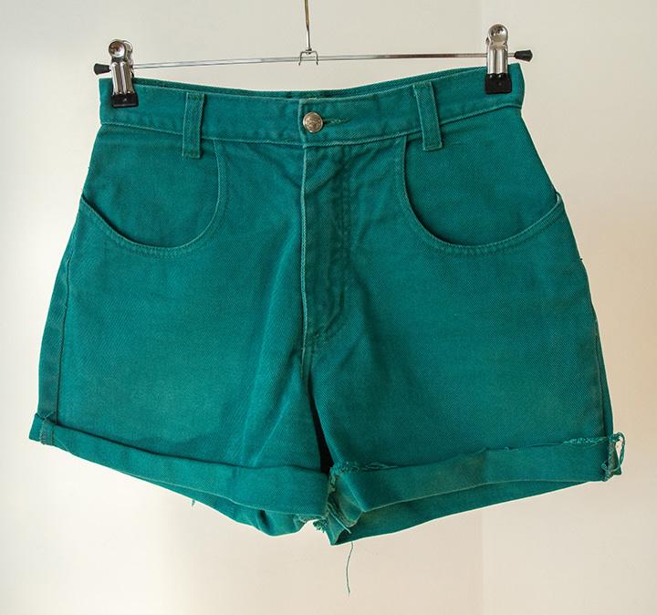 shorts denim verdes